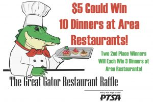 Great Gator Restaurant Raffle