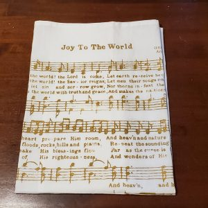 dish towel joy to the world sheet music