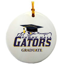 Graduation Gator Ornament