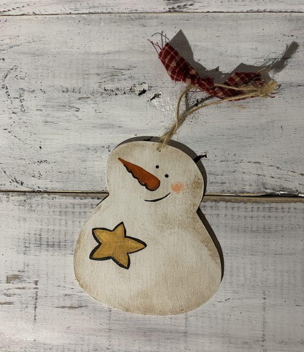 star snow man