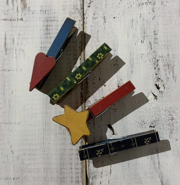 chip clip, hearts and stars