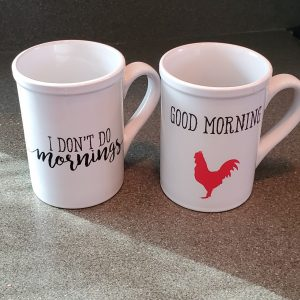 16 oz coffee mug set