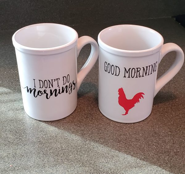 16 oz coffee mug set