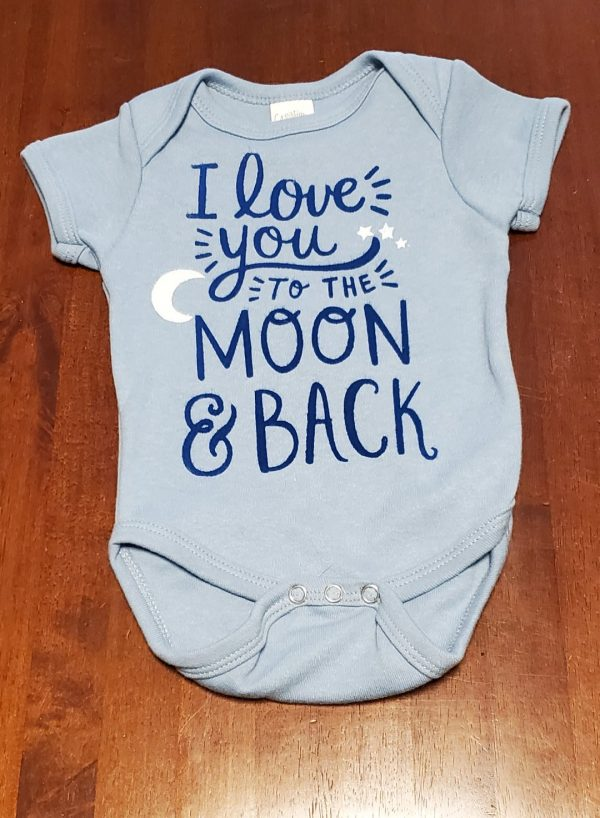 onesie love you to moon and back