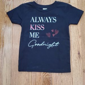 shirt always kiss me goodnight