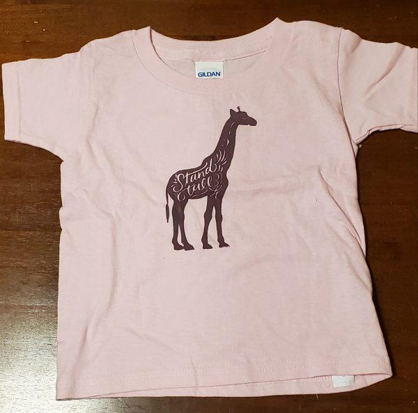 tshirt giraffe